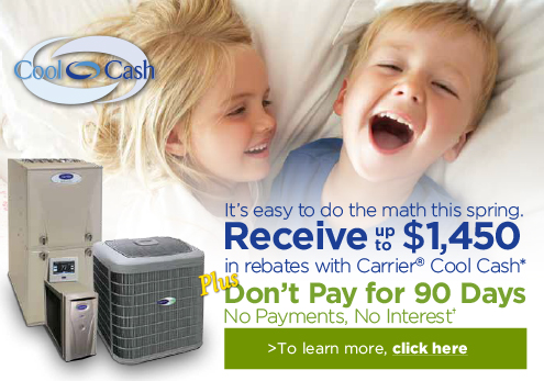 2014 Carrier Cool Cash Spring Constant Home Comfort