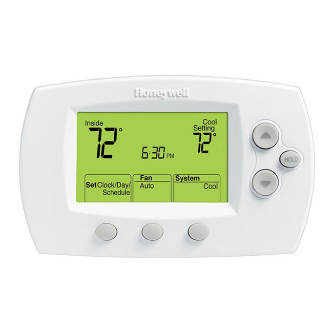 Focuspro 6000 5 1 1 5 2 Day Programmable Thermostat
