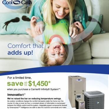 2013 Carrier Cool Cash