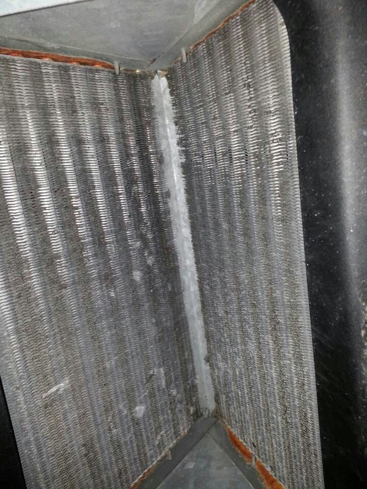 Cleaning Existing Coil Before And After Air