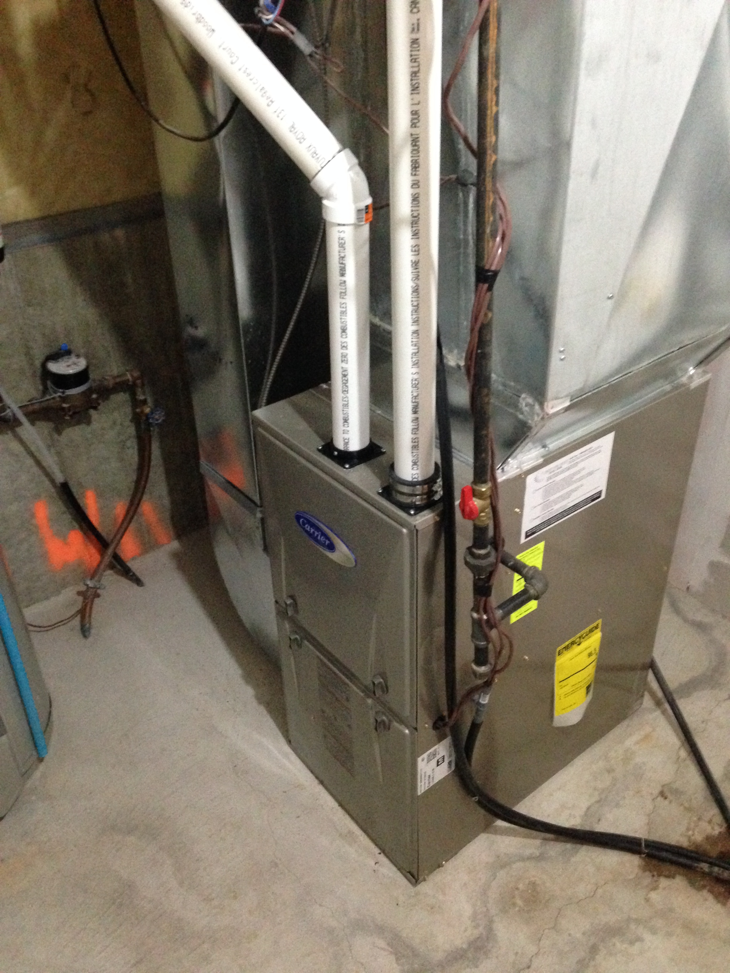 New Performance 96 2 Stage Furnace Installation In Markham