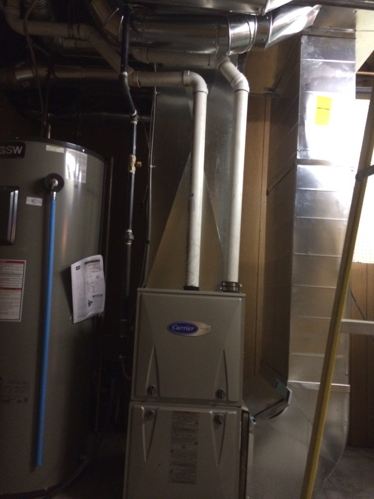 New Duct Work Furnace Amp Ac In Scarborough Furnace Amp Air