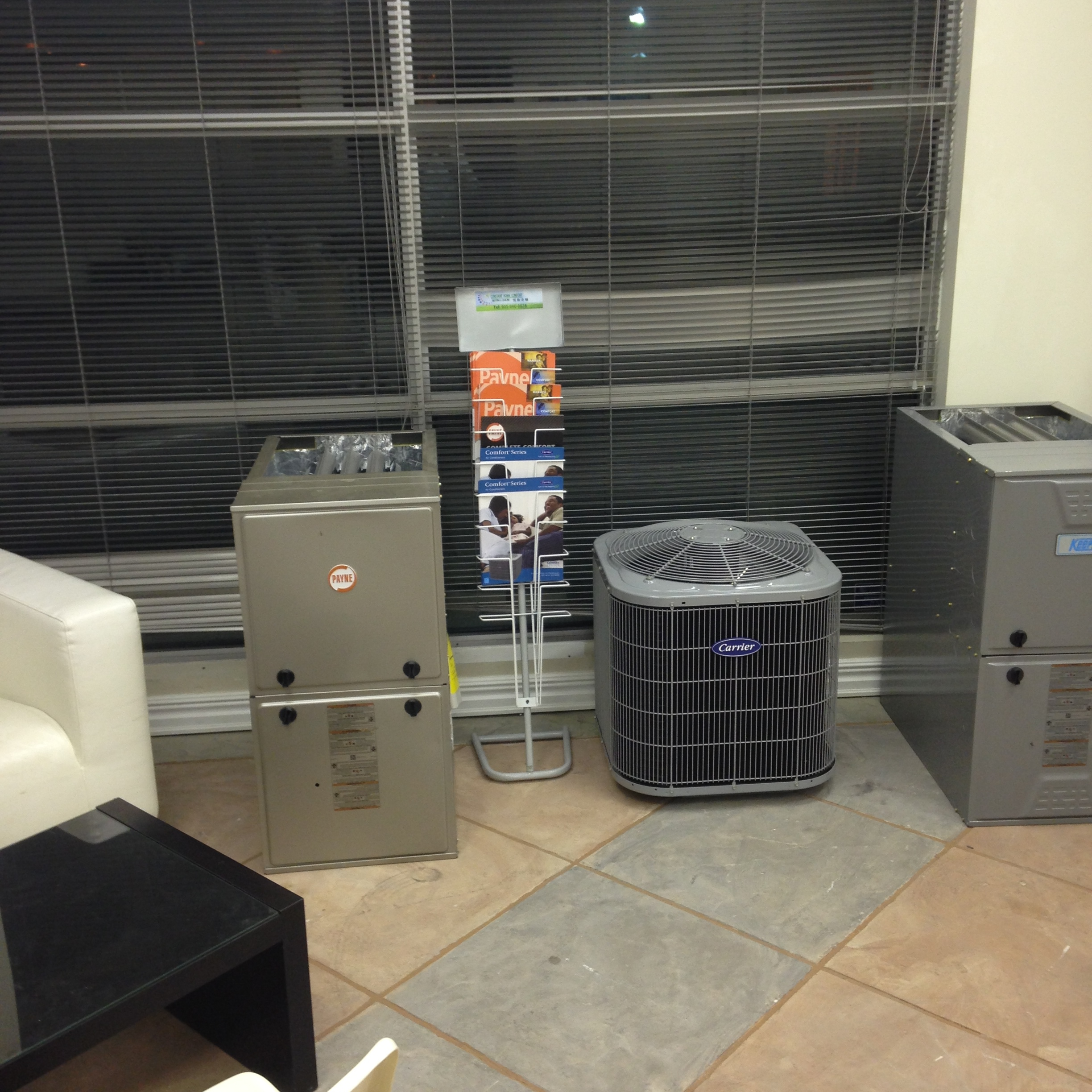 Constant Home Comfort Showroom Air Conditioning
