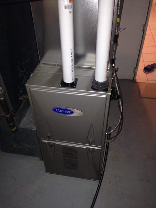 New Furnace Installation Constant Home Comfort Furnace