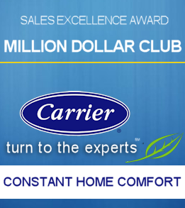 Carrier Million Dollar Club Award