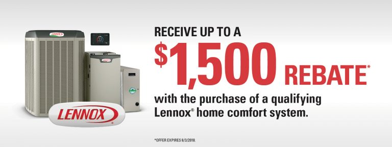 2019 Lennox New Year Promotion Air Conditioning