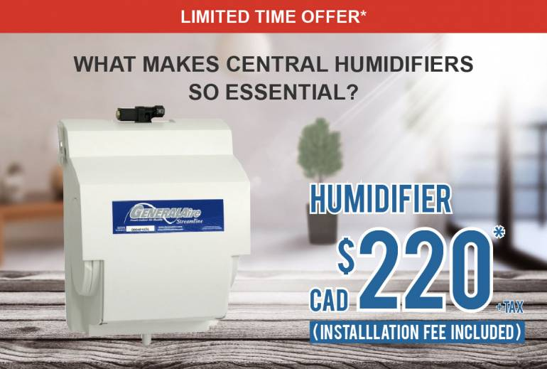 Home Humidifier Only $220+tax in Ontario