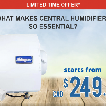 Home Humidifier Starts From $249+tax in Ontario