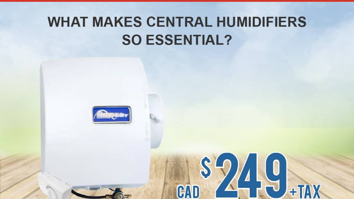 Home Humidifier Only $249+tax in Ontario