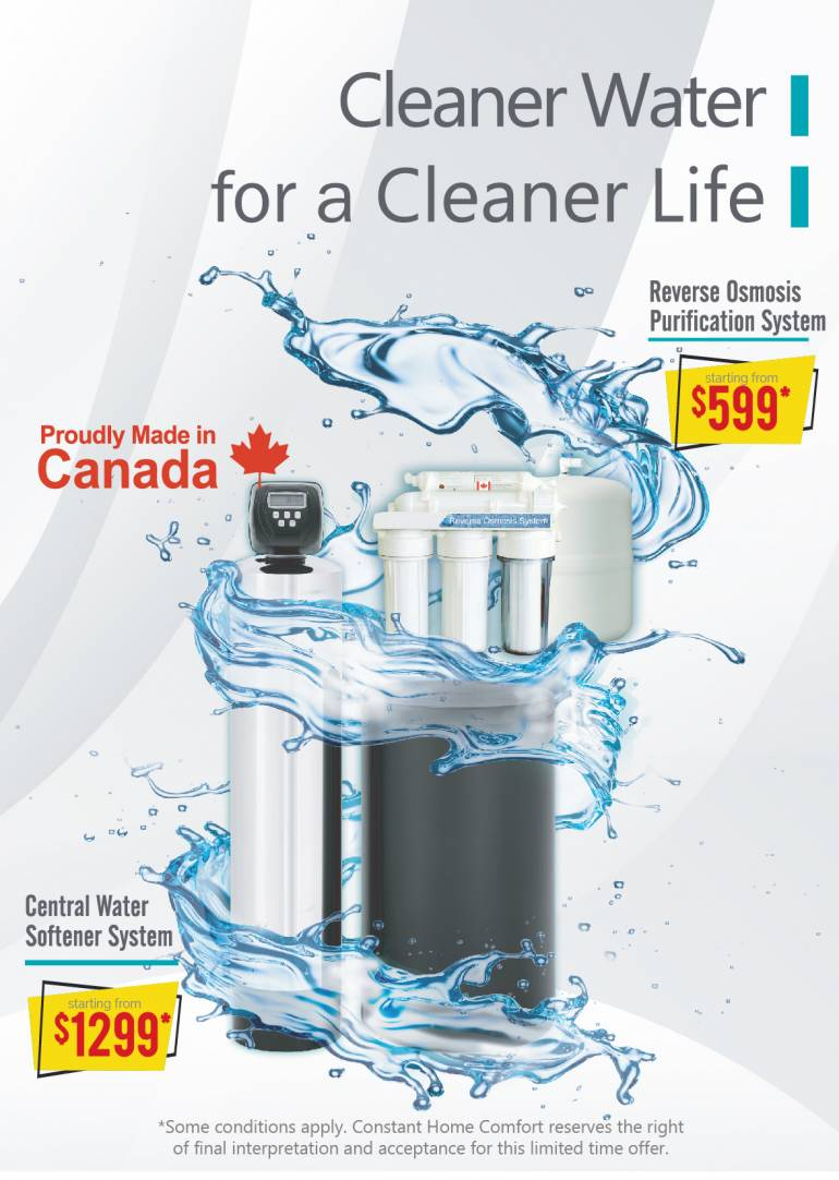 Reverse Osmosis Purification System Starting As Low As $599*