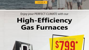 High-Efficiency Gas Furnaces Starting As Low As $799 After Rebates!