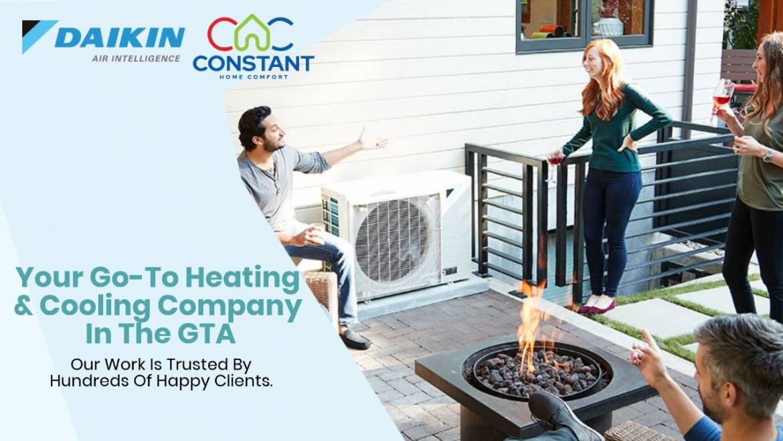 Daikin Contractor in the Greater Toronto Area   Constant Home Comfort